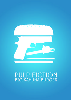 Pulp Fiction - Big Kahuna Burger - fan art