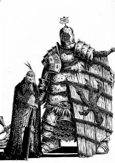 """residentmedieval: """" It's said that the great gate of Lord Dispater's Tower Of Iron is left unbarred and open. This confuses many, since the Lord's reputation for caution is well-known, until they. High Fantasy, Fantasy Books, Fantasy Characters, Victorian Illustration, Fantasy Illustration, 70s Sci Fi Art, Armadura Medieval, Sword And Sorcery, Arte Horror"""