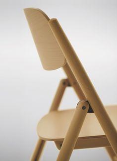 木製フォールディングチェア