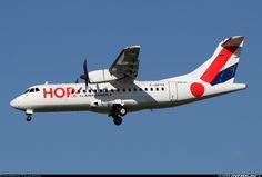 Hop (Air France)More: ATR ATR-42-500 More: Toulouse - Blagnac (TLS / LFBO)More: France, April 23, 2013   Remark Photographer    F-GPYK (cn 537) Now in Hop livery.