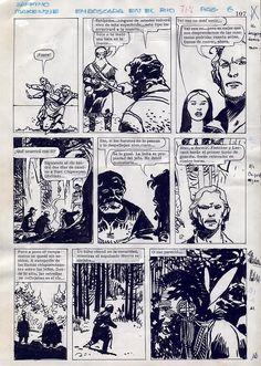 Jorge Zaffino - MacKenzie - Emboscada en el Rio 6 Comic Art