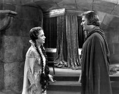 Maid Marian in The Adventures of Robin Hood (1938) - b/w still