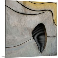 "Canvas On Demand Concrete Structure by Gilbert Claes Photographic Print on Canvas Size: 20"" H x 20"" W x 1.25"" D"