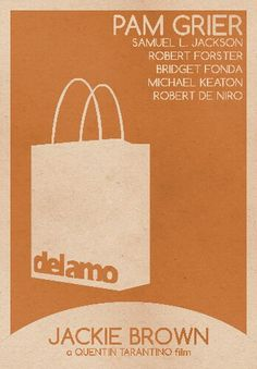 Jackie Brown Pam Grier, Jackie Brown, Quentin Tarantino, Jackson, Brown Bags, Films, Movies, Paper Shopping Bag, Minimalist