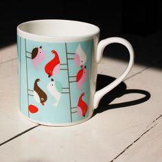 birdies in your coffee!