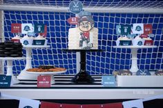 Hockey Birthday Party via Kara's Party Ideas | KarasPartyIdeas.com (22)