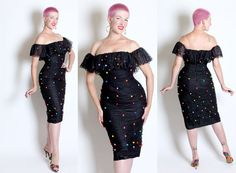 THE BEST Designer 1980's does 1950's Bad Girl by butchwaxvintage