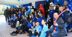 Decenas de personas participan en Cruces en los actos del Día de Concienciación sobre el Autismo