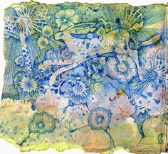 Freckles and Flowers: Booking NOW! Gelli Plate Monoprinting