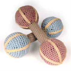 Crochet baby rattle - Google Search