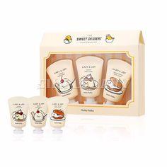 Holika Holika Gudetama Dessert Hand Cream 3 Set #HolikaHolika