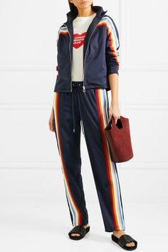 Multicolored jersey Zip fastening through front 100% polyester Dry cleanSmall to size. See Size & Fit notes.