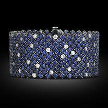 GABRIELLE'S AMAZING FANTASY CLOSET | Sapphire and Diamond Bracelet |