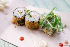 Possun sisäfile makirulla - Pork makiroll  http://maukasta.fi/reseptit/possun-sisafile-makirulla/   Sushi, japan, pork