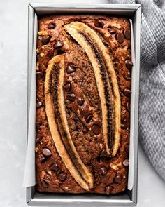 The Best Homemade High Protein Snacks | Ambitious Kitchen Best Healthy Banana Bread Recipe, Vegan Banana Bread, Banana Bread Recipes, Sandwich Recipes, Oatmeal Cream Pies, Oatmeal Cups, Brunch, How To Make Bread, Healthy Snacks