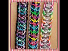 """Released"" Rainbow Loom Bracelet/How To Tutorial - YouTube"
