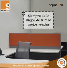 """""""Muy buenos días, empieza cada día como si tu lo inventaras.""""  #mobiliario #lima #arquitectura #diseñodeinteriores #interiores #peru #buenosdias #norendirse #squadraperu"""
