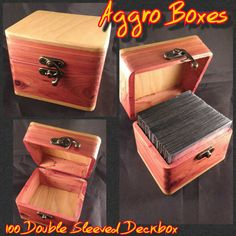 Hey, I found this really awesome Etsy listing at https://www.etsy.com/listing/292723463/magic-the-gathering-deck-box-holds-100