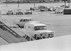 ST-527-6-63. Arrival of President John F. Kennedy's Casket at Love Field - John F. Kennedy Presidential Library & Museum