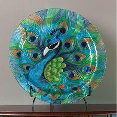 Cape Craftsmen Peacock Platter