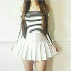 Pin by alexa ☾ on ❤ одежда, лукбуки, юбка Teen Fashion Outfits, Hot Outfits, Korean Outfits, Skirt Outfits, Cute Fashion, Skirt Fashion, Casual Outfits, Cute Skirts, Mini Skirts