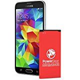 #9: PowerBear Samsung Galaxy S5 Battery   2800 mAh Li-Ion Battery for the Galaxy S5 [I9600 G900F  G900V (Verizon) G900T (Tmobile) G900A (AT&T) G900P (Sprint)]   S5 Spare Battery [24 Month Warranty] - Shop for iPhone 6 and 6s cases (http://amzn.to/2bALgTW) unlocked iPhones (http://amzn.to/2bAKkz7) Samsung Galaxy smartphones (http://amzn.to/2bKd1Iy) accessories (http://amzn.to/2cjPALD)