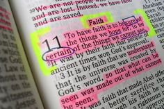 I need to start highlighting and underlining in my bible like this.maybe it's time for a new bible. Prayer Scriptures, Faith Prayer, Bible Verses Quotes, Faith Quotes, Prayer Quotes, Verses On Faith, Gospel Quotes, Faith Scripture, Religion Quotes
