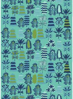 Off to the Woods: Marimekko´s Autumn 2012. Satumetsä (Fairy tale Forest), Design: Teresa Moorhouse for Marimekko