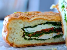 recipe for Italian shooter sandwich. Great for groups and events like dinner parties or Super Bowl