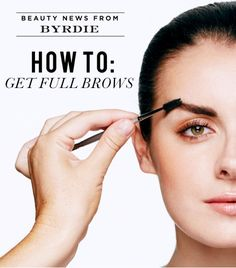 Blame it on Cara Delevingne and Lily Collins: the full brow is back, and bigger than ever. But what are you supposed to do if you a) aren't blessed in the brow department b) tweezed them all out in the '90s because you loved Drew Barrymore or c) are simply scared of augmenting your assets with a little pencil and powder action? HOW TO FILL IN YOUR BROWS LIKE A PRO