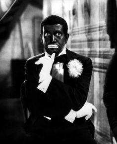 Al Jolson dans Le Chanteur de jazz / The Jazz Singer, réalisé par Alan Crosland, 1927.