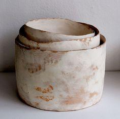 Maria Kristofersson; Glazed Ceramic Vessels, 2012.