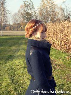 Homemade wool coat | Manteau en laine| Dolly dans les Ardennes