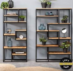 Bookcase Kyan - large and small - Bookshelf Decor - Smokey Eye Make Up - Golden Necklace - DIY Hairstyles Long - DIY Interior Design Home Bar Furniture, Furniture Stores, Rustic Furniture, Furniture Ideas, Furniture Knobs, Mirrored Furniture, Steel Furniture, Furniture Vintage, French Furniture