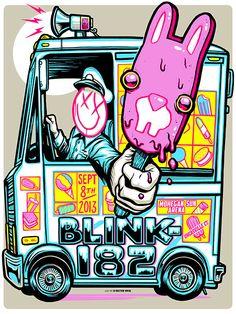 Blink-182-Munk+One-Uncasville-Poster-4