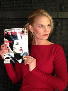 Jen modeling Angelina Jolie
