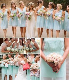 illusion mint bridesmaid dresses 2014