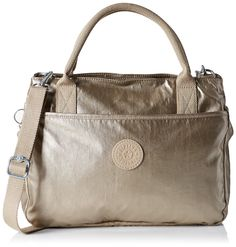 Kipling Womens Caralisa Bp Top-Handle Bag None My Wish List, Handle, Shoulder Bag, Shoe Bag, Metal, Womens Fashion, Champagne, Top, Bags