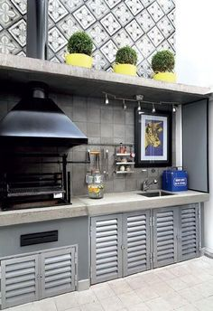 Basic Kitchen Area Concepts For Inside or Outside Kitchen areas – Outdoor Kitchen Designs Diy Outdoor Kitchen, Outdoor Cooking, Outdoor Kitchens, Parrilla Exterior, Basic Kitchen, Kitchen Floor, Outdoor Carpet, Bbq Area, Fire Pit Backyard
