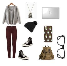 """""""Untitled #40"""" by atypicalhiptsta ❤ liked on Polyvore featuring J Brand, Burton, Converse, Burberry and Tom Ford"""