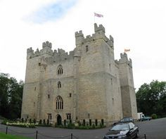 castles in Northumberland   Langley Castle - Northumberland