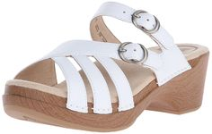 Dansko Women's Shelby White Leather Wedge Sandal > Check out this great image : Strappy sandals Leather Wedge Sandals, Strappy Sandals, Slide Sandals, Wedge Shoes, Women Sandals, Quick Weight Loss Diet, Best Weight Loss Program, Weight Loss Inspiration, Reduce Weight