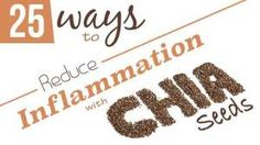 25 Ways to Fight Inflammation with Chia Seeds