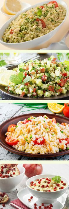 best recipes for couscous salad - A different kind of couscous salad!d … -The best recipes for couscous salad - A different kind of couscous salad! Couscous Recipes, Salad Recipes For Dinner, Healthy Salad Recipes, Couscous Ideas, Lunch Recipes, Meat Recipes, Couscous Salat, Food Inspiration, Clean Eating