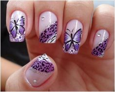 16 Butterfly Nail Designs for the Season - Pretty Designs