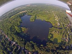 Veterans Park offers four accessible fishing piers, a 1.78-mile loop trail though native wetlands with 830 feet of boardwalk, and a wetland/wildlife viewing area. (Ohio fishing license is required for ages 16 and older.)