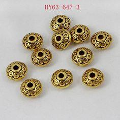 HYBEADS 50per 6mm Tibetan Beads Spacer Disk Beads Antique... https://www.amazon.com/dp/B00QPYMACQ/ref=cm_sw_r_pi_dp_skILxb7FQ8DE9