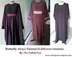 Butterfly Abaya