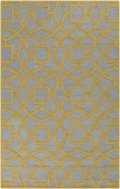 Geometric and textured rug from the Dream Collection by Surya. (DST-1173)