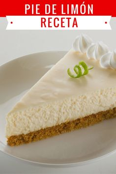 Sweets For Diabetics, Key Lime Pie, Dessert Recipes, Desserts, Vanilla Cake, Great Recipes, Cravings, Bakery, Cheesecake